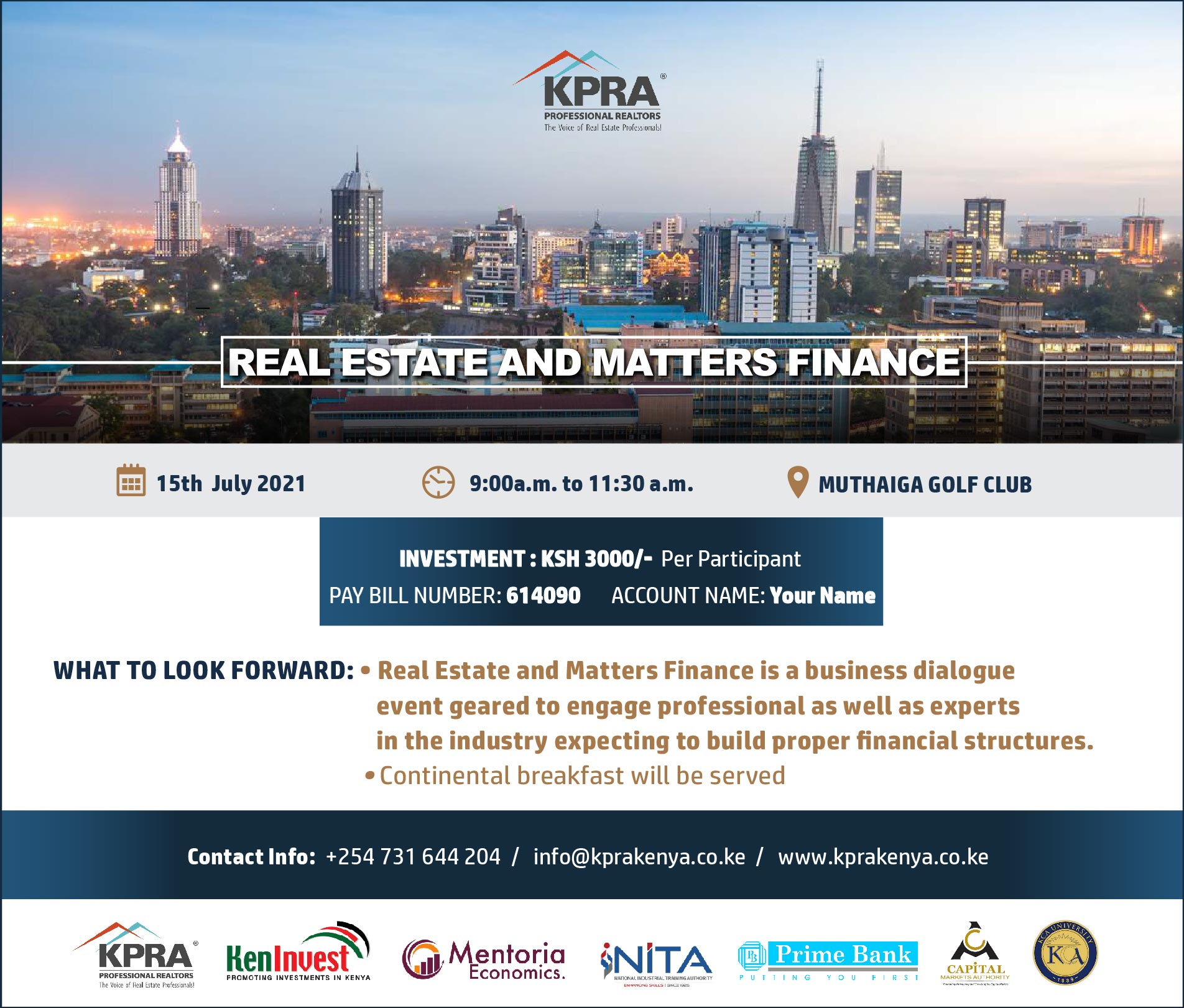 Real Estate and Matters Finance